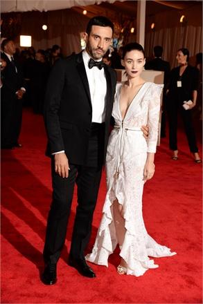 MetGala2013 - Riccardo Tisci  (Givenchy) e Rooney Mara