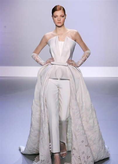 PANTALONE - Ralph & Russo Haute Couture Spring 2014