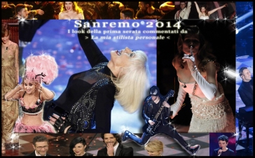 I look della prima serata di Sanremo 2014 commentati da La mia Stilista Personale