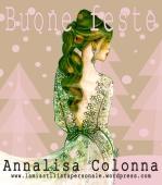 Buone feste da Annalisa Colonna - XMas Card by Stilista Personale