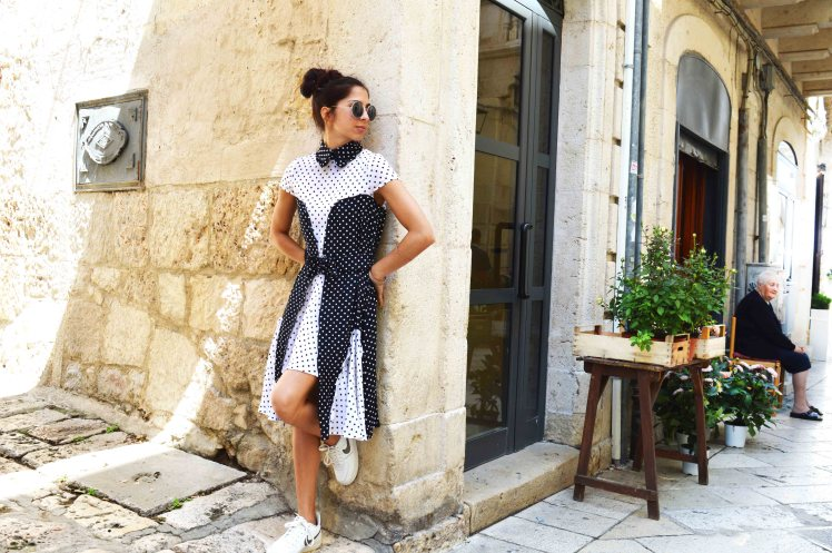 Abito WHI BLACK DRESS Annalisa Colonna - Stilista personale - centro storico Altamura low